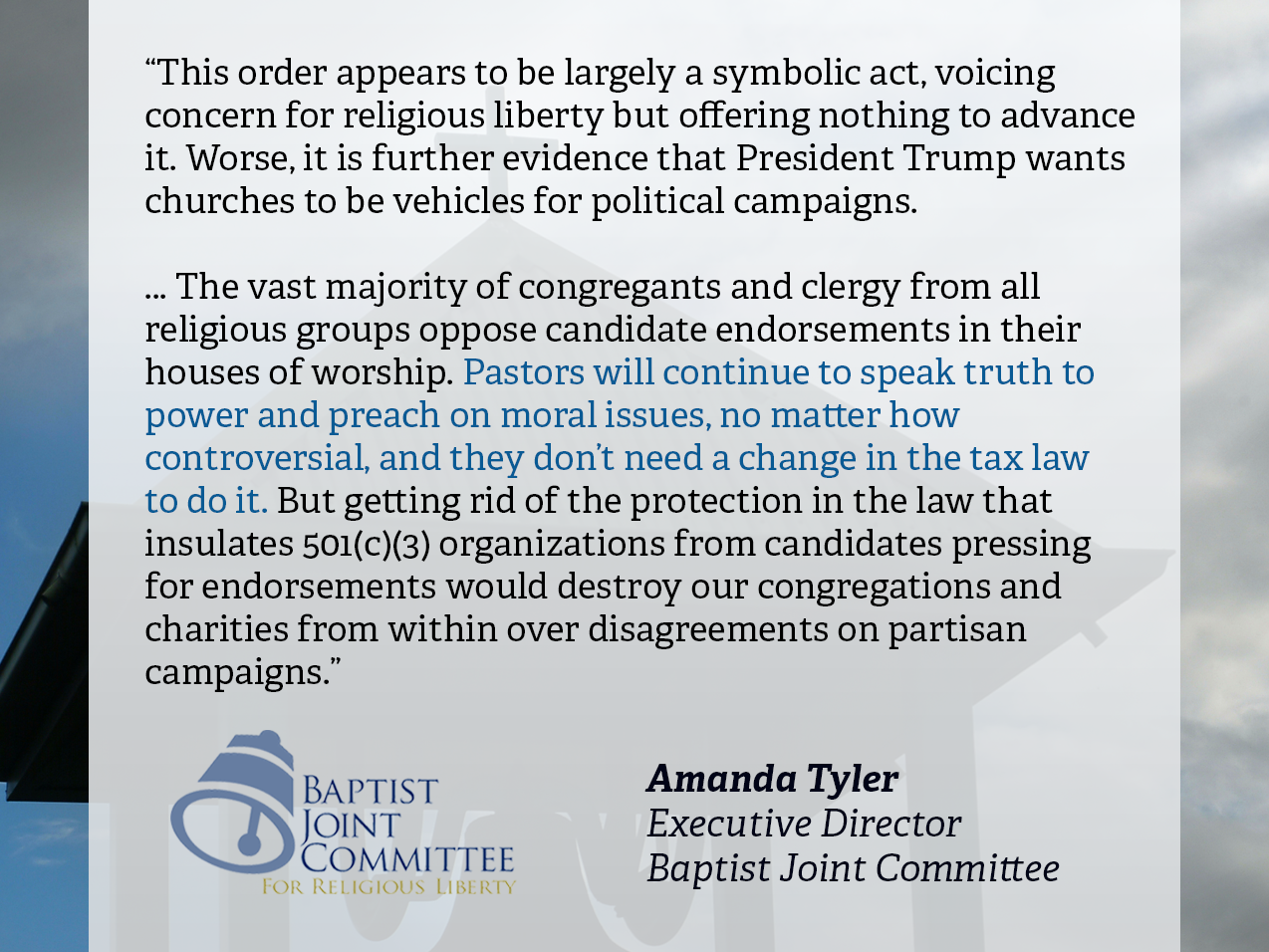 baptists and religious liberty essay